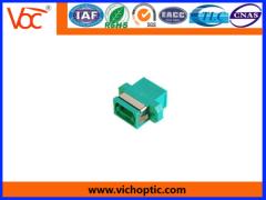 durable plastic MPO Optical Fiber Adaptor