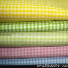 100%cotton yarn dye 1/16 apron check