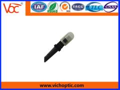 White and Black MPO Optical Fiber Connector