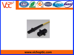 Stable and durable plastic MTRJ Fiber Connector