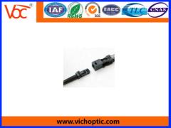 Excellent mechanical endurance MTRJ fiber optic connector