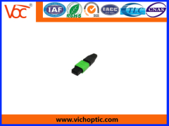 100% tested durable MPO Optical Fiber Connector