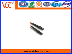 Excellent stability plastic MTRJ fiber optic connector
