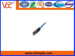 Competitive price plastic MU fiber optic connector
