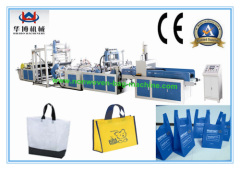 Automatic tridimensional nonwoven bagmaking machinery