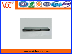 practical metal Cat5E patch panel