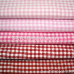 100%cotton yarn dye 1/8 apron check