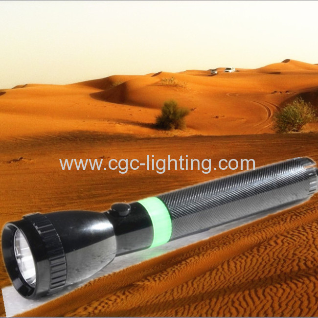3W rechargeable aluminum CREE LED Torch &flashlight