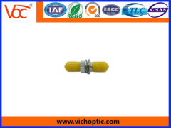 durable engineering plastic ST optical fiber adaptor