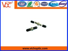 durable black engineering plastic ST optical fiber adaptor