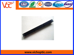 durable metal CAT5e network patch panel