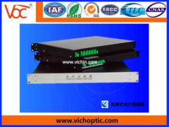 durable rack-mounted optical splitter box