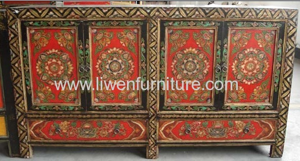 reproduction Tibetan painting counter