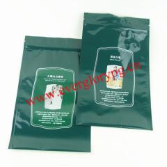 tea aluminum foil bags with zipper
