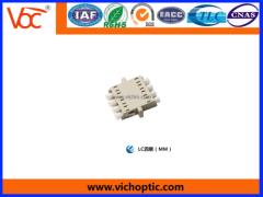engineering plastic LC Fiber Adapter