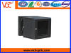 black single section wall cabinet