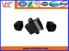 MPO type optical fiber adapter
