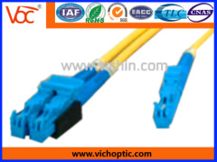 E2000 type fiber optic connector