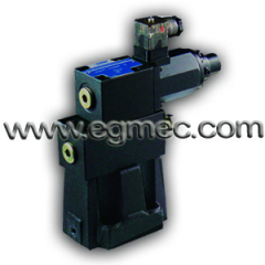 Yuken HNC EBG series of EBG03, EBG06, EBG10 Pilot Operated Pressure Relief Proportional Valve