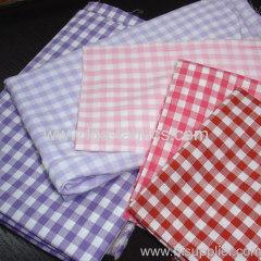 100%cotton yarn dye 1/8 plaid fabric