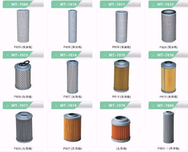 P805 HYDRAULIC FILTER FOR EXCAVATOR