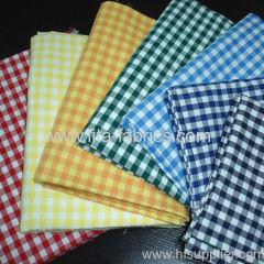 100%cotton yarn dye colorful plaid cloth