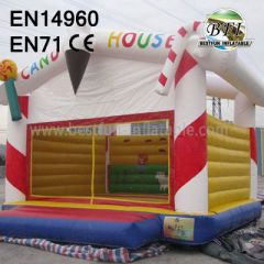 Inflatable Christmas Bounce House