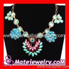 flower Statement collar Necklaces