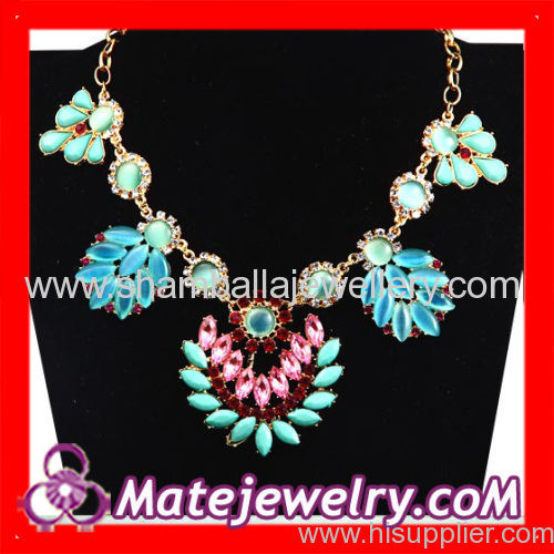 flower Statement collar Necklaces