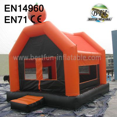 Inflatable Pumpkin Bouncer For Hallowmas Holiday