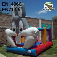 Big Inflatable Rabbit Moonwalks
