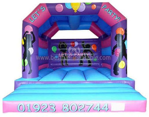 Balloon Party Inflatable Bouncer