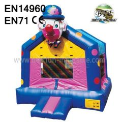 Happy Clown Bounce House Inflatables