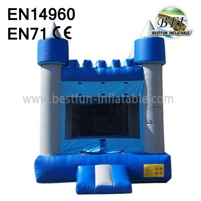 Standard Inflatable Blue House Bounce