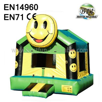 Inflatable Smiling Face Bouncers