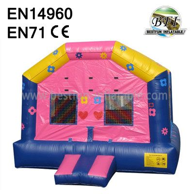 Inflatables Pink Bounce House For Girls