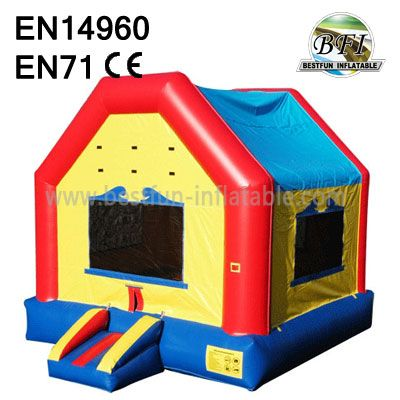 Inflatable Panel Bounce House With Banner