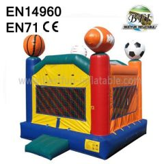 Inflatable Football Jumping House Factory