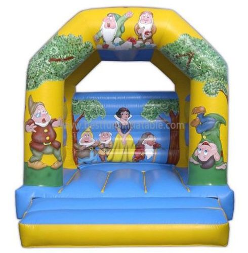 Inflatable Snow White And Dwarf Bouncer