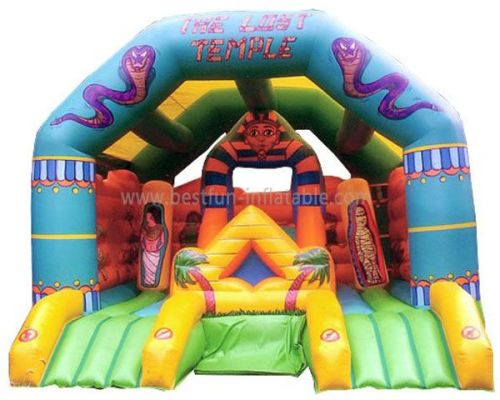 Egypt Inflatable Temple Bouncer