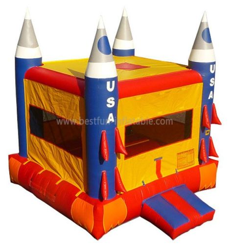 Commercial Inflatable Rocket Bouncer