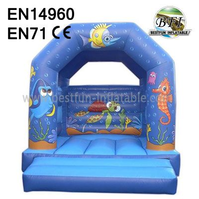 Small Inflatable Sea World Bounce House