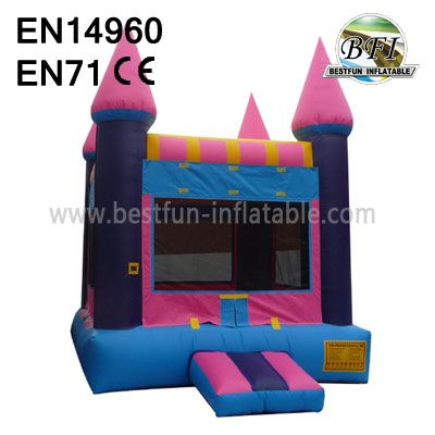 Inflatable Pink Castle Bounce