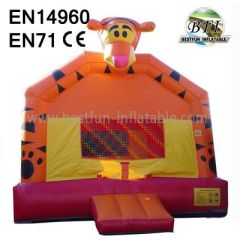 Tiger gonflable Bounce House