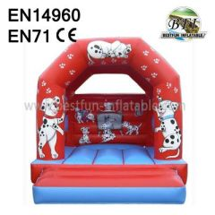 Inflatable Dalmatian Bounce House