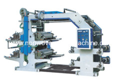 YT series four color flexo printing machinery