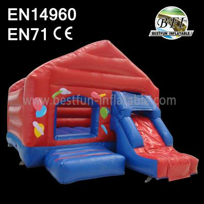Inflatable Bouncer Ball Pit With Slide