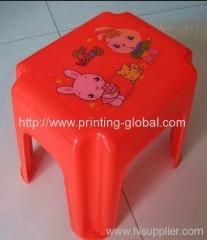 Heat transfer films for plastic plastic children bench