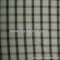 100% cotton yarn dye plaid poplin fabric