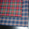Polyester and cotton yarn-dyed poplin woven fabric